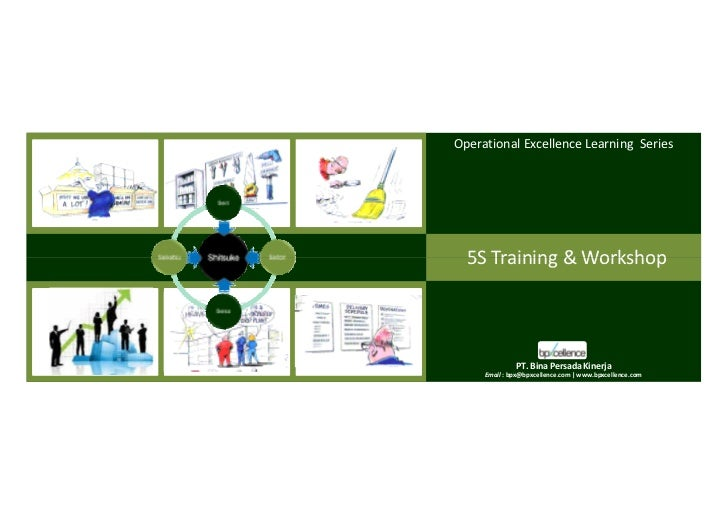 c e           Operational Excellence Learning Series           n       l le     ce        5S Training & Workshop  pxb     ...