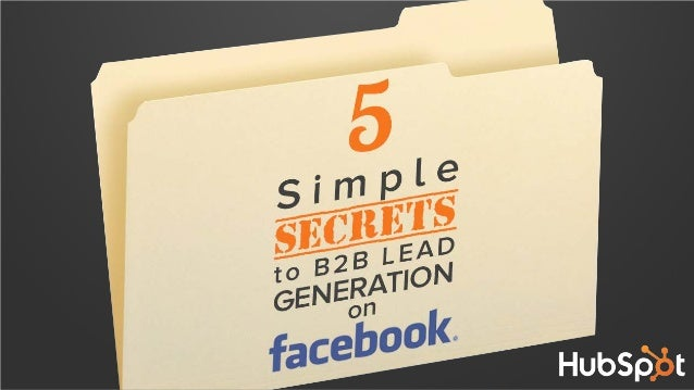 Ever wonder what types of content you should create and share on Facebook to generate leads?