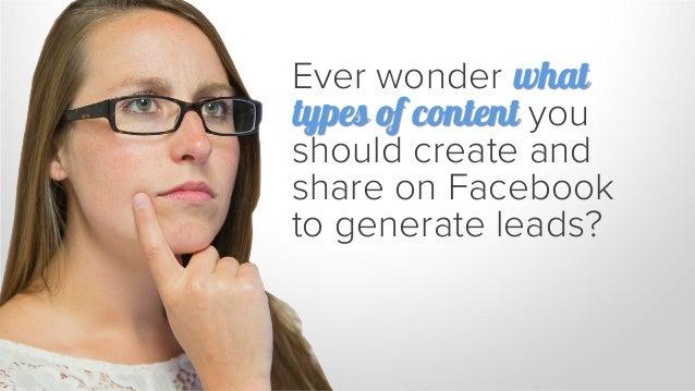 5 Simple Secrets to B2B Lead Generation on Facebook Slide 2