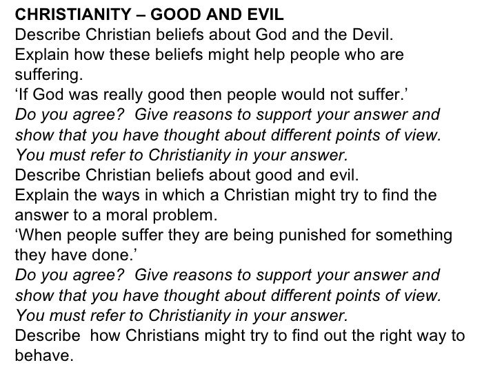 sin and suffering And how would christians explain evil in the world and suffering with any other reasons finally what tests of faith apart from job are their in the bible to support the idea that.