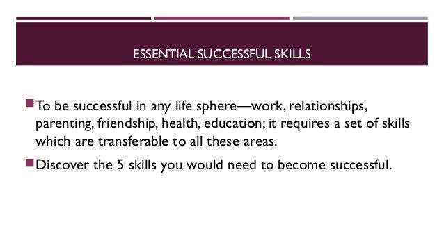 5 skills to achieve anything Slide 2