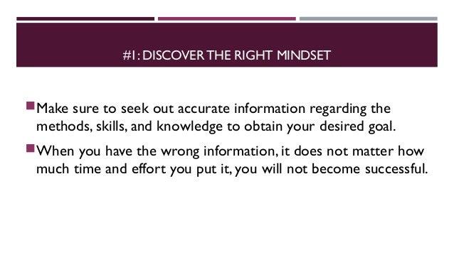 5 skills to achieve anything Slide 3