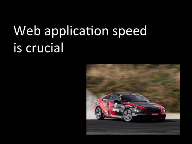 web application speed is crucial
