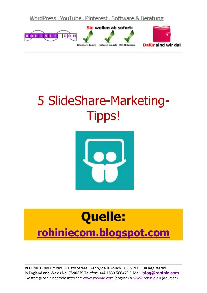 5 SlideShare-Marketing...