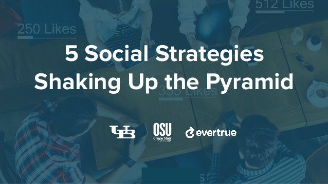 5 Social Strategies Shaking Up the Pyramid