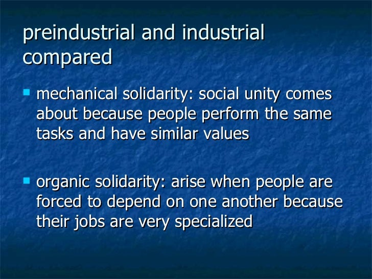 mechanical and organic solidarity which one is Nationalism and sarajevo's organic solidarity nationalist discourses and political agendas often announce an objective of returning to a homogenous, self-contained.