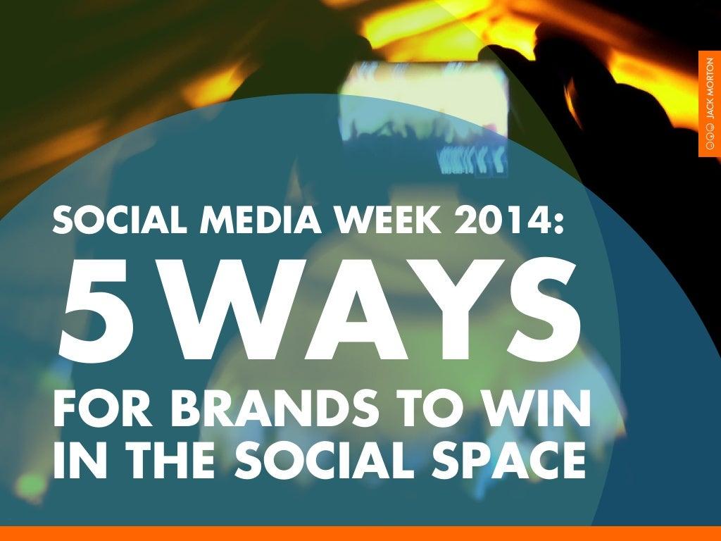 5 tips for brands on social media marketing