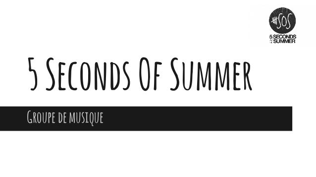 5SecondsOfSummer Groupedemusique