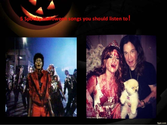 5 Spooky Halloween songs you should listen to!