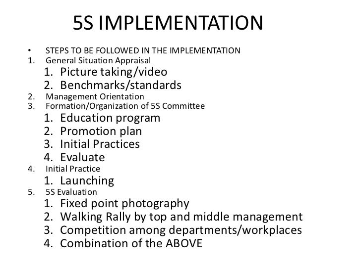 5 s program orientation powerpoint presentation, Powerpoint templates