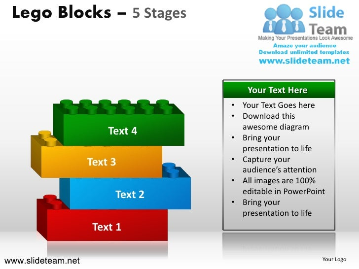 5 stages lego cubes building blocks stacked building for Stages in house construction