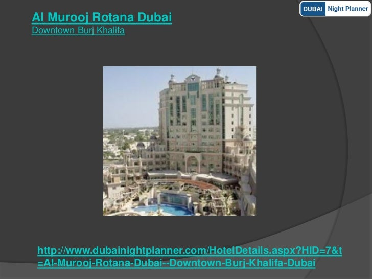 5 Star Dubai Hotels Outlets
