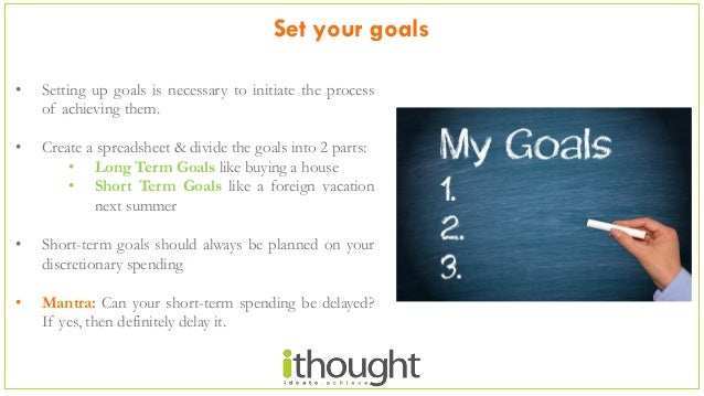 5 steps for Financial Planning