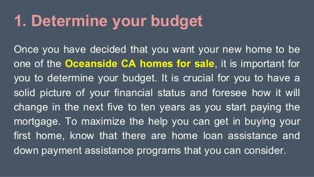 5 steps for first time buyers of homes in oceanside ca. Black Bedroom Furniture Sets. Home Design Ideas
