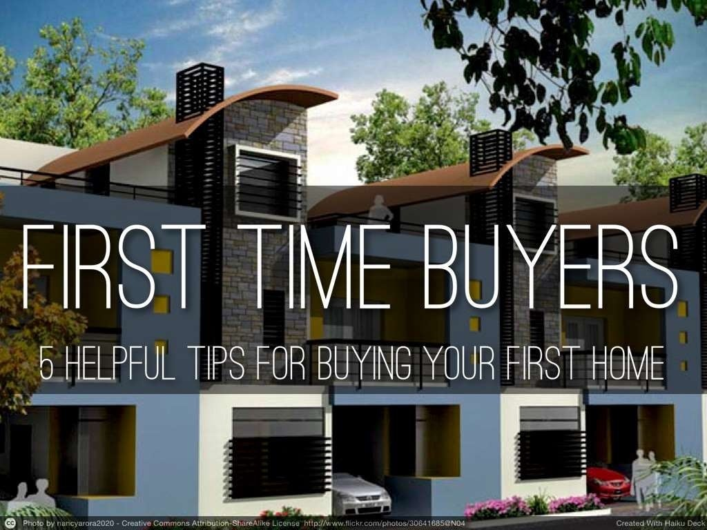5 steps for first time real estate buyers before buying