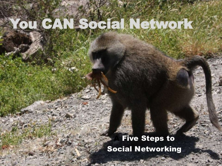You CAN Social Network<br />A Five Steps to<br />Social Networking<br />
