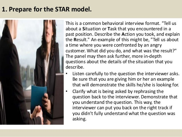 behavioral interview star