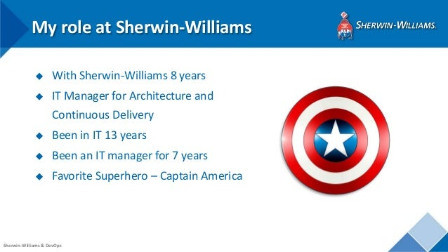 5 steps to building a mature devops organization with sherwin williams toneelgroepblik Image collections