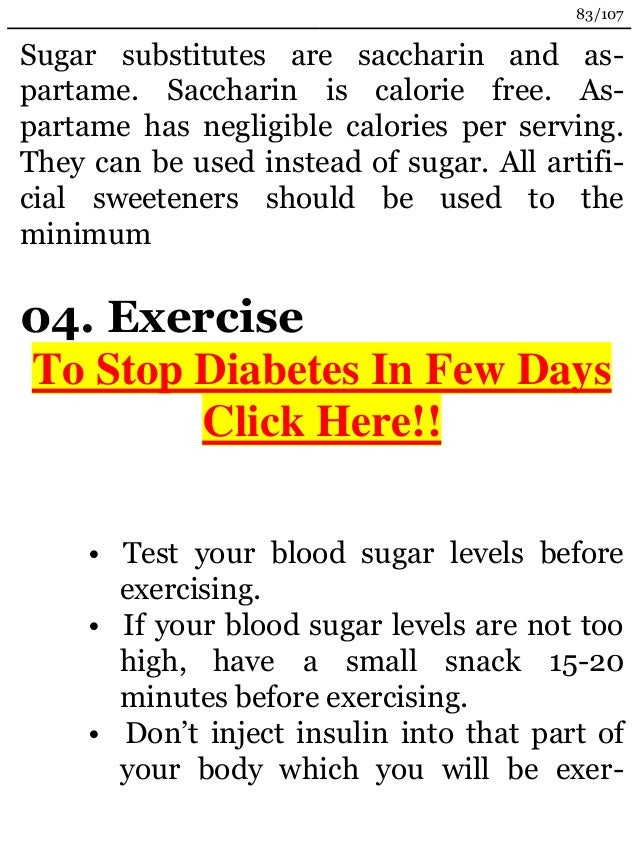 Artificial sweeteners doesnt make your blood sugar any lower