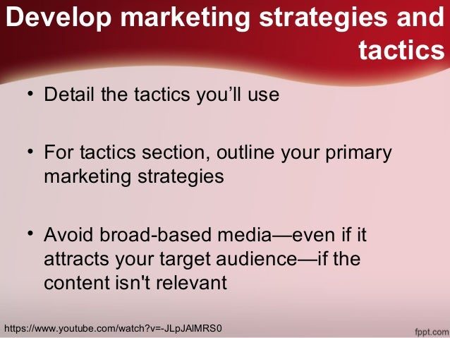 Steps To Create A Marketing Plan  Digital Marketing Tips