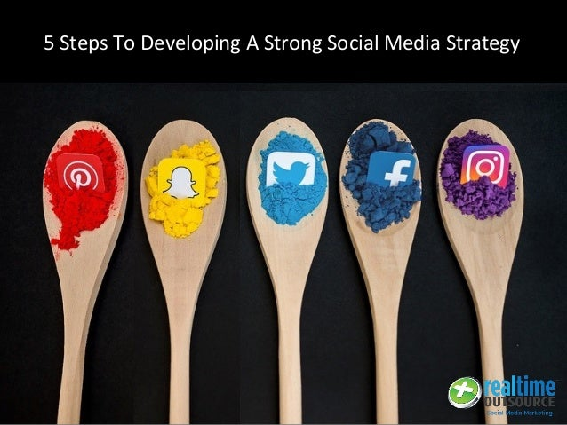 5 Steps To Developing A Strong Social Media Strategy