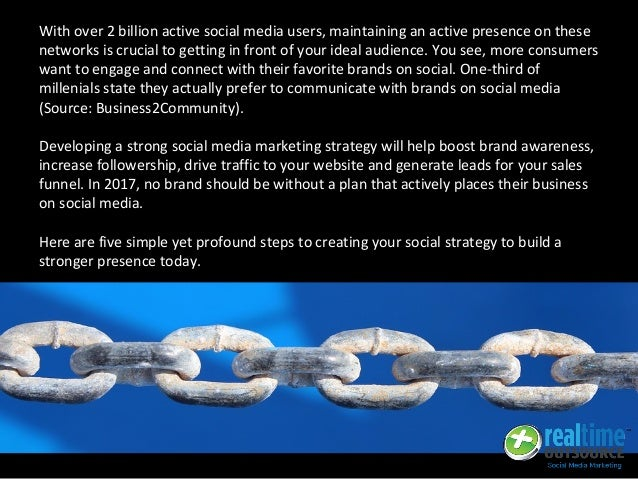 With over 2 billion active social media users, maintaining an active presence on these networks is crucial to getting in f...