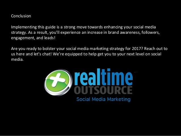 Conclusion Implementing this guide is a strong move towards enhancing your social media strategy. As a result, you'll expe...