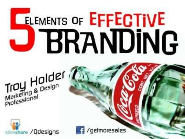 5 Steps to Effective Branding For Small Business with Troy Holder