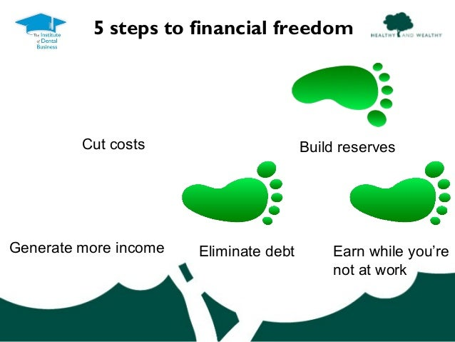 how to become financial freedom