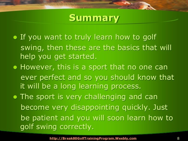 How to Learn a Great Golf Swing | Golf Loopy - Play Your ...