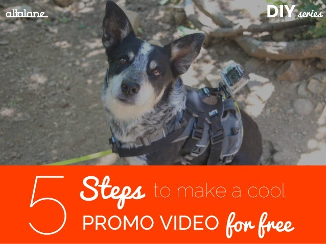 DIYseries Steps PROMO VIDEO5 to make a cool for free altalane