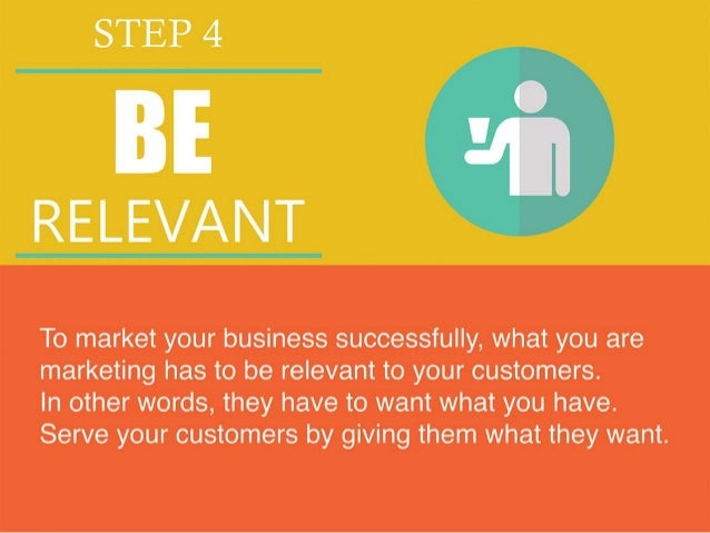 5 Steps to Marketing Your Business