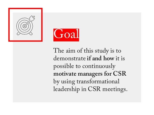 5 steps To Motivational CSR Meetings