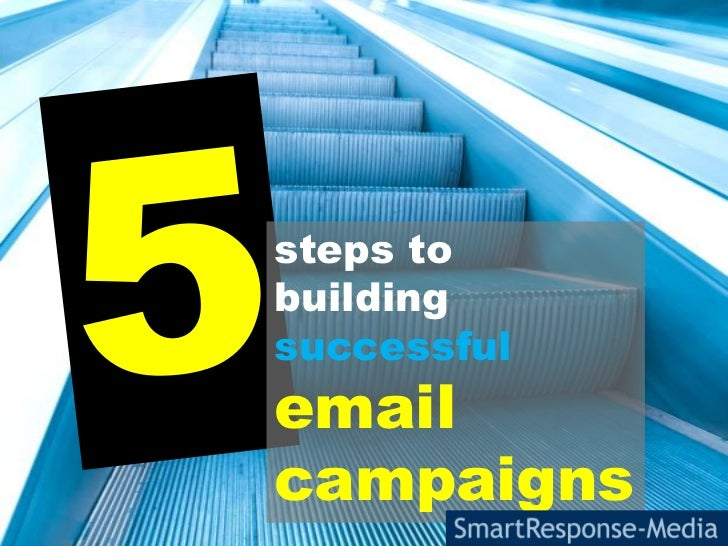 5<br />steps to building successful email campaigns<br />
