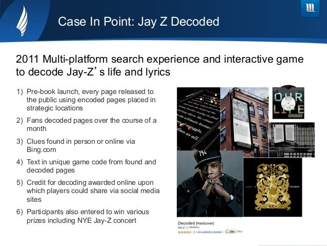 Droga5: Launching Jay-Z's Decoded [10 Steps] Case Study ...