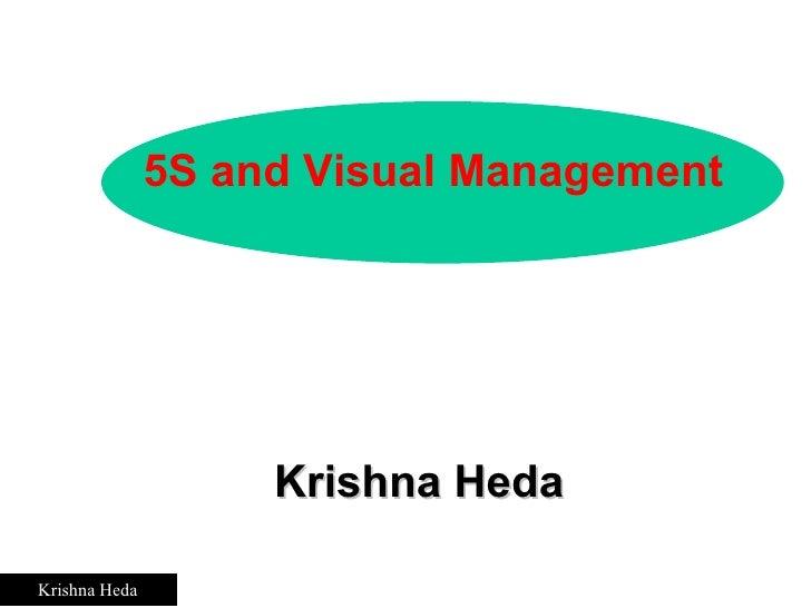 Krishna Heda 5S and Visual Management