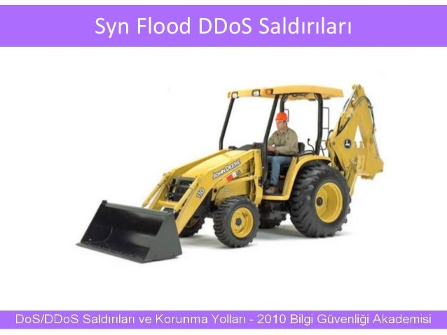 Syn Flood DDoS Saldırıları