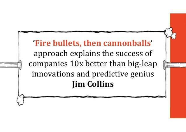 Video: bullets then cannonballs
