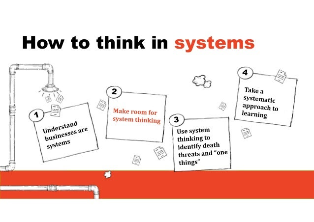 Weresistsystemthinking Because it is harder and usually more confrontational