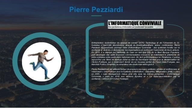 #PortraitDeStartuper 25 Pierre Pezziardi Entrepreneur, co-fondateur du cabinet de conseil OCTO Technology et de l'Universi...