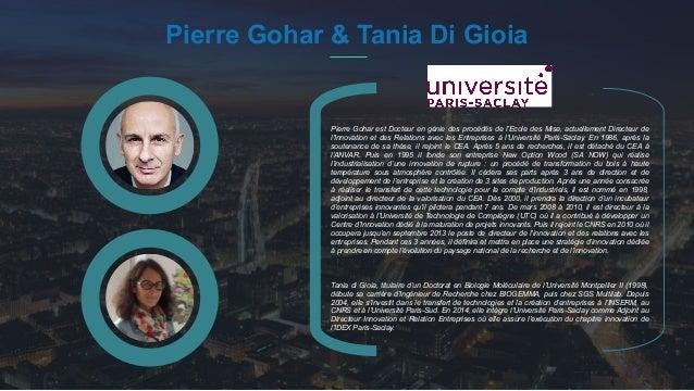 #PortraitDeStartuper 28 Pierre Gohar & Tania Di Gioia Pierre Gohar est Docteur en génie des procédés de l'Ecole des Mise, ...