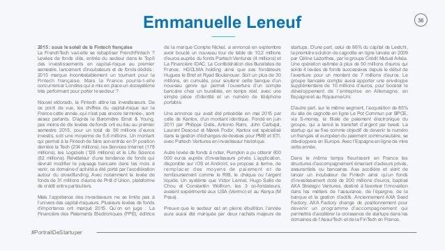 #PortraitDeStartuper 36 2015 : sous le soleil de la Fintech française La FrenchTech va-t-elle se rebaptiser FrenchFintech ...