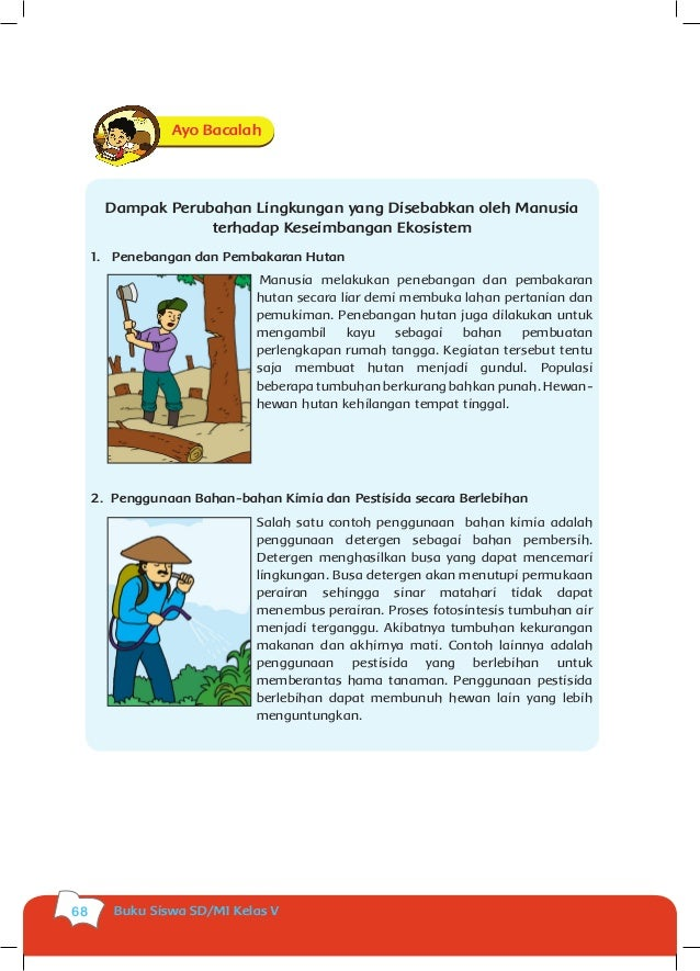 Buku Siswa Kls 5 Tema 1 Kumpulan Foto Abg