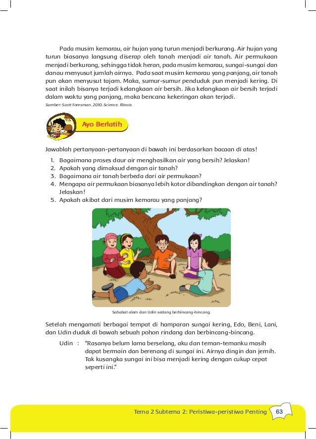 Buku Siswa Kls 5 Tema 2 Kumpulan Foto Abg