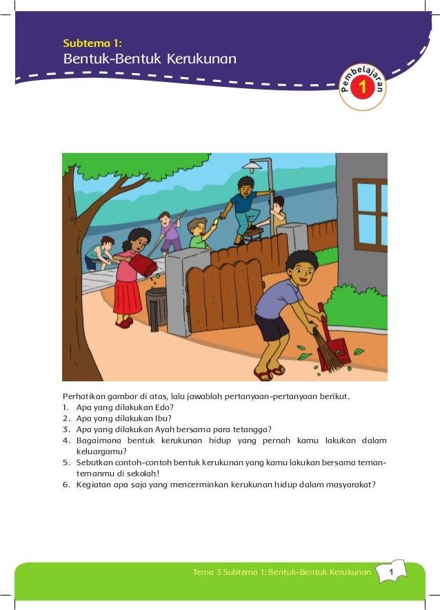 Buku Siswa Kls 5 Tema 3