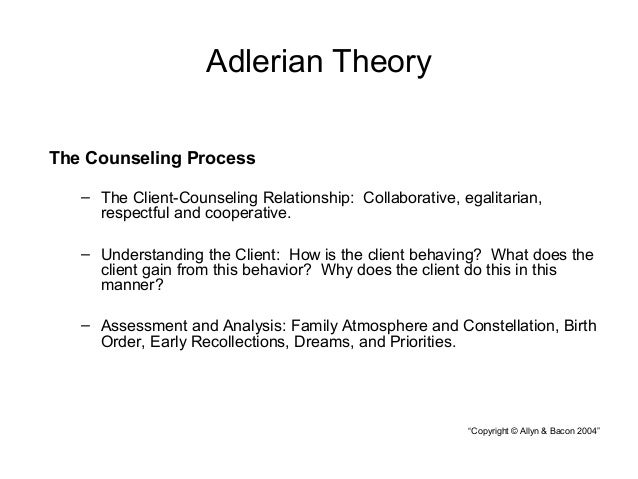 smilarity and differece with adlerian therapy and client centered When comparing the similarities and differences of client-centered therapy and both adlerian psychotherapy and psychoanalytic psychotherapies (capella, 2016) the first thing that comes to mind is that all of the theories used in psychology tend to come from some form of the basic freudian concepts of psychotherapy.