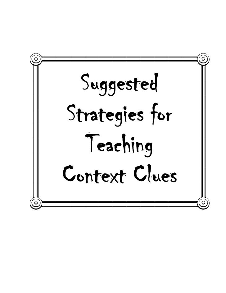 5th context clues