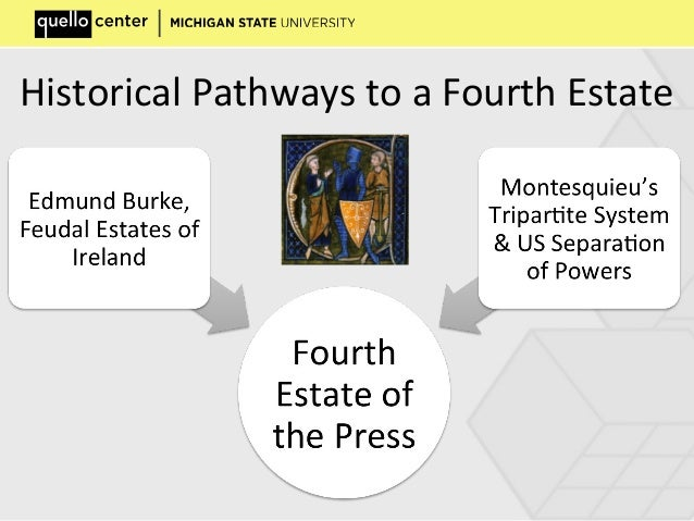 Historical Pathways to a Fourth Estate