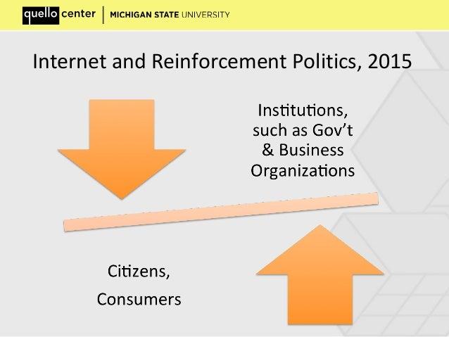 Internet and Reinforcement Politics, 2015