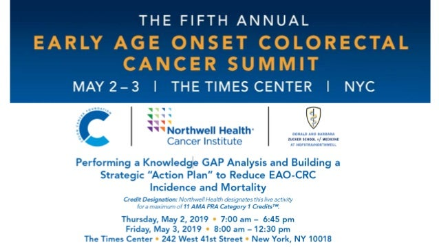 5th Annual Early Age Onset Colorectal Cancer Summit - Session III Slide 2